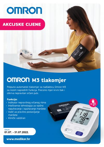 Omron M4 Intelli IT tlakomjer